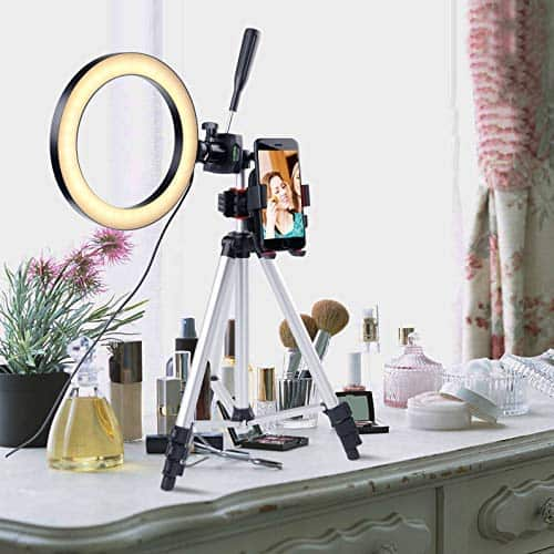 light ring and tripod